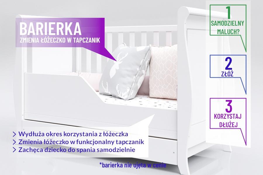 Łóżeczko Tapczanik Sofka Misza