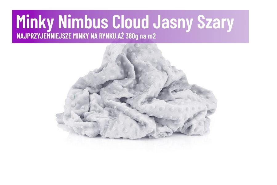 Minky Nimbus Cloud Jasny Szary