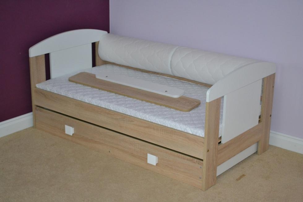 łóżko Animals Z Szufladą łóżeczka Dziecięce łóżka