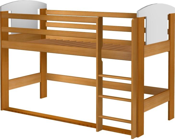 Łóżko EccoAnimals na antresoli