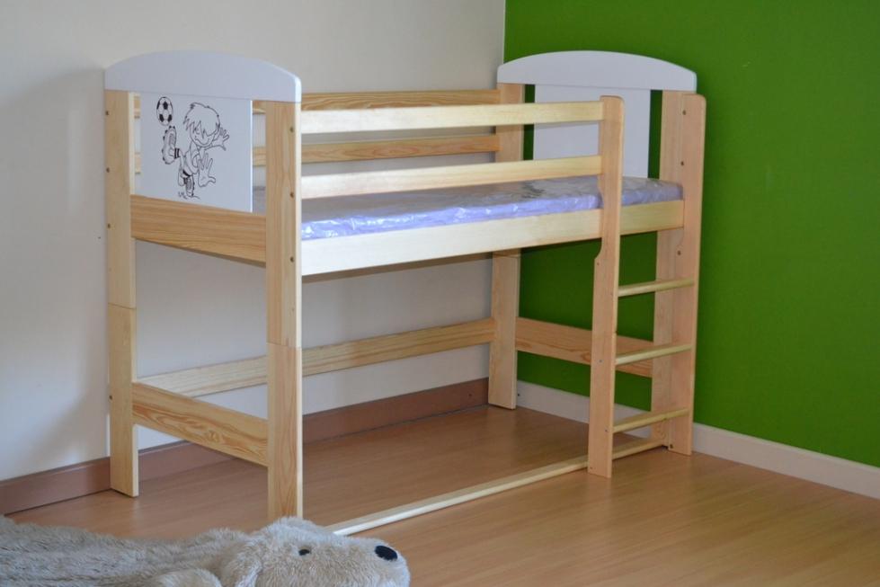 łóżko Eccoanimals Na Antresoli łóżeczka Dziecięce łóżka