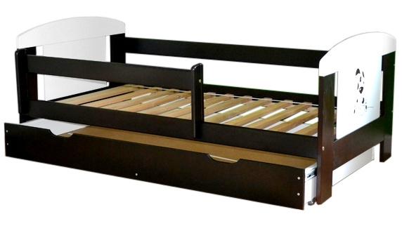 Łóżko EccoAnimals z szufladą na prowadnicy