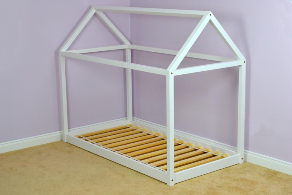 łóżko House Domek łóżeczka Dziecięce łóżka Piętrowe