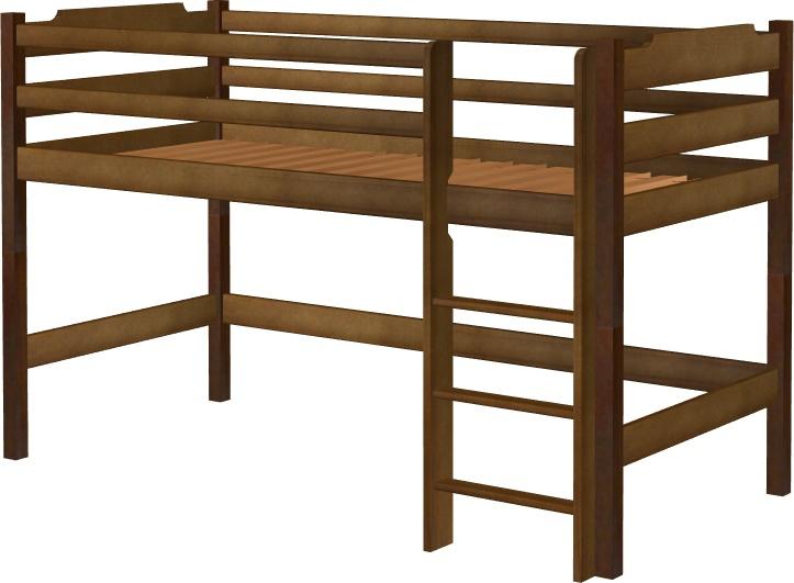 Łóżko Karol mini na antresoli