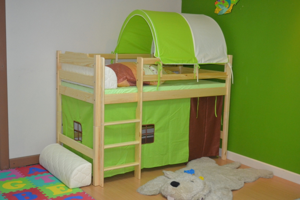 łóżko Karol Mini Na Antresoli łóżeczka Dziecięce łóżka