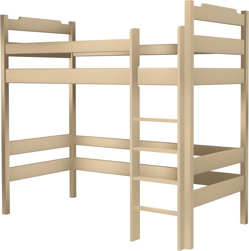 łóżko Karol Na Antresoli Wysokie łóżeczka Dziecięce łóżka
