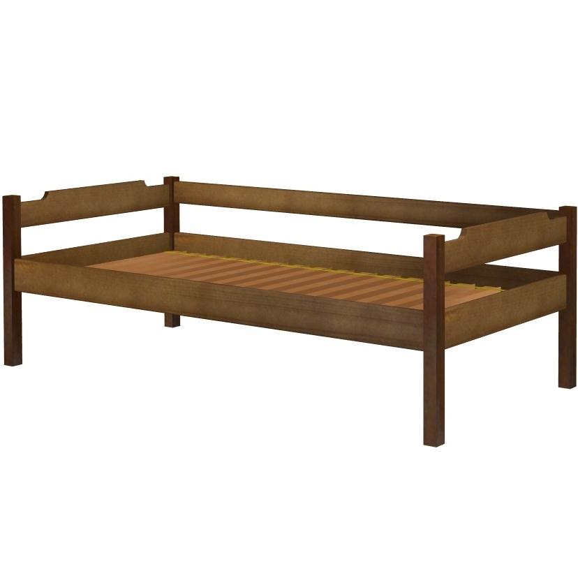 Łóżko Karol szczyt niski