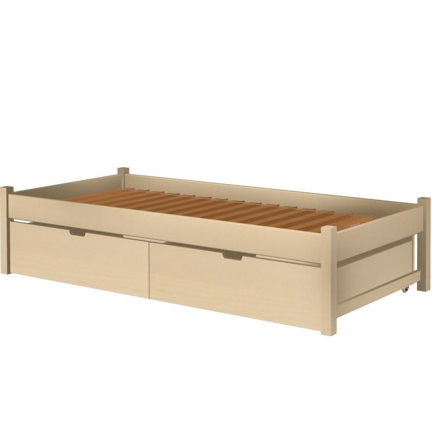 Łóżko Karol tapczan z szufladami