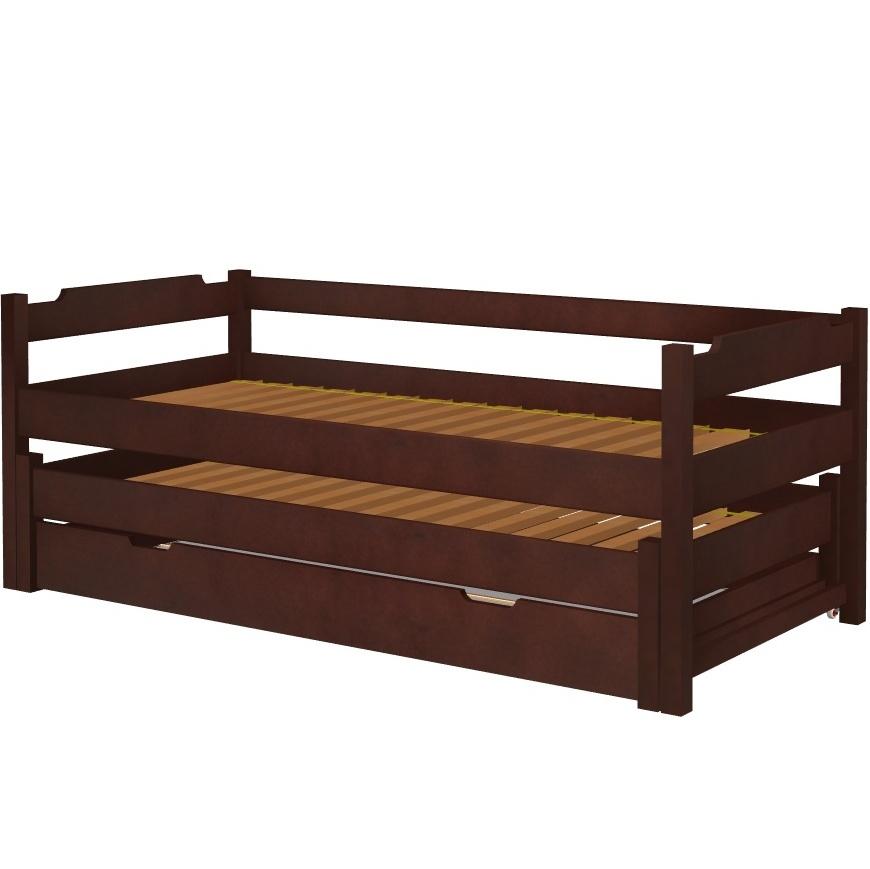 Łóżko Karol wysuwane z szufladą