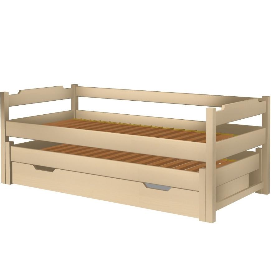 Łóżko Karol wysuwane z tapczanem