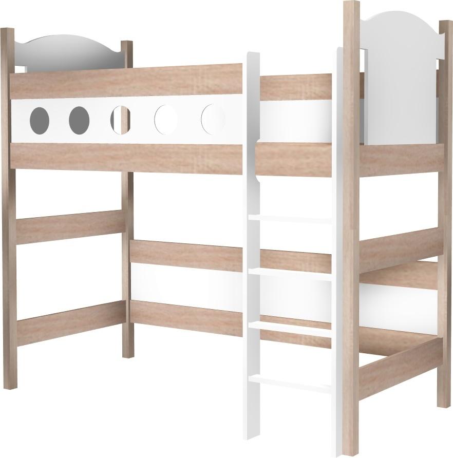 łóżko Piccolo Na Antresoli łóżeczka Dziecięce łóżka