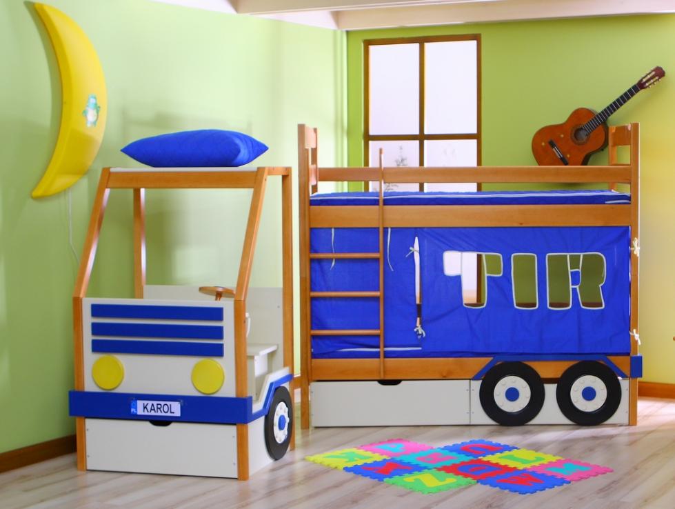 łóżko Piętrowe Karol Tir łóżeczka Dziecięce łóżka