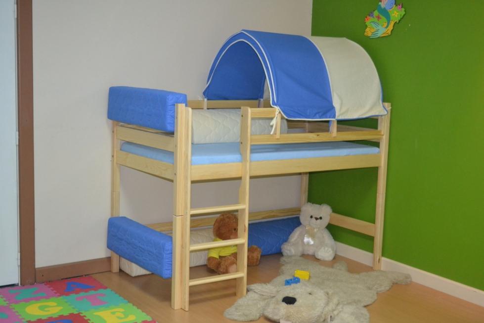 Tunel łóżeczka Dziecięce łóżka Piętrowe Pokoje Meble