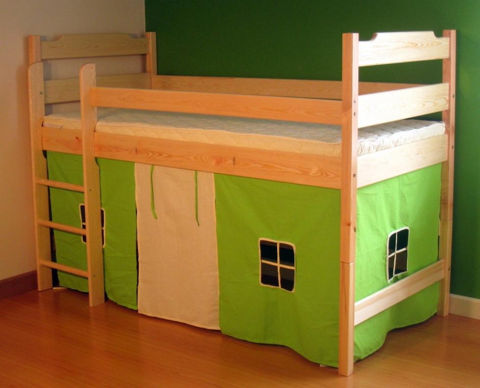 Zasłonka łóżka średniego i piętrowego
