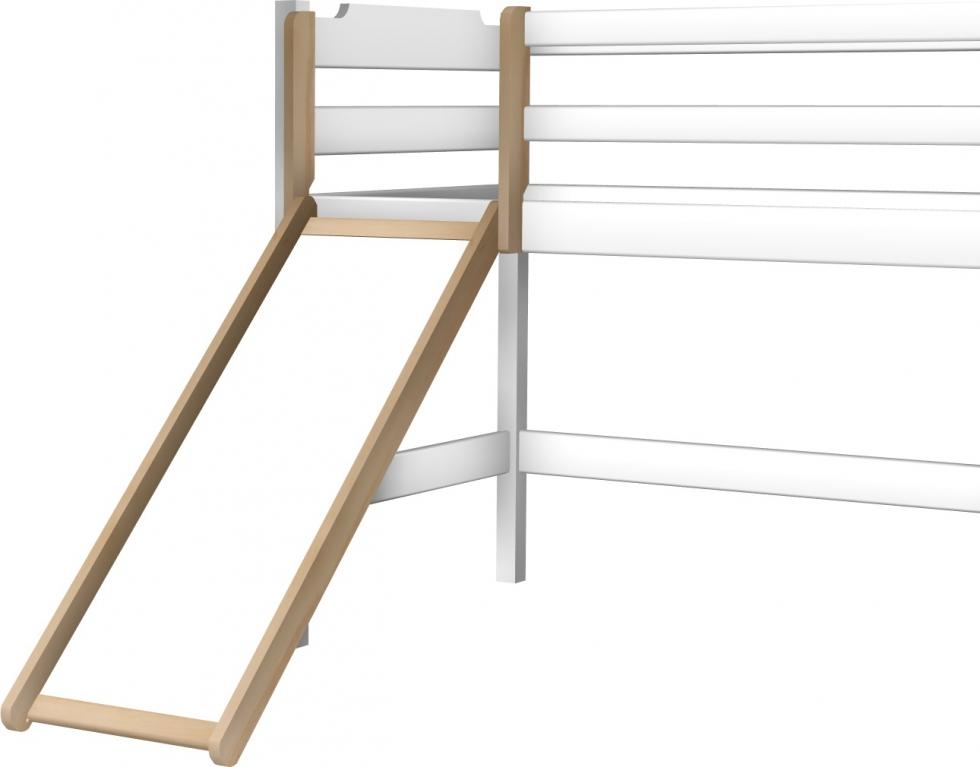 Zjeżdżalnia łóżka półpiętrowego