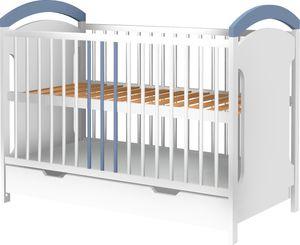 Łóżeczko Adaś 120x60 szufladą