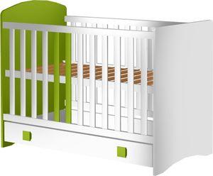 Łóżeczko Colors 120x60 z szufladą