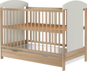 Łóżeczko EccoAnimals 120x60 z szufladą