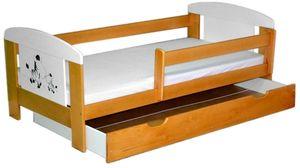Łóżko EccoAnimals z szufladą