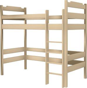 Łóżko Karol na antresoli wysokie