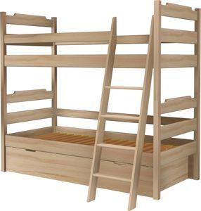 Łóżko Karol piętrowe z tapczanem