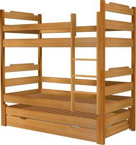 Łóżko Karol potrójne z szufladą